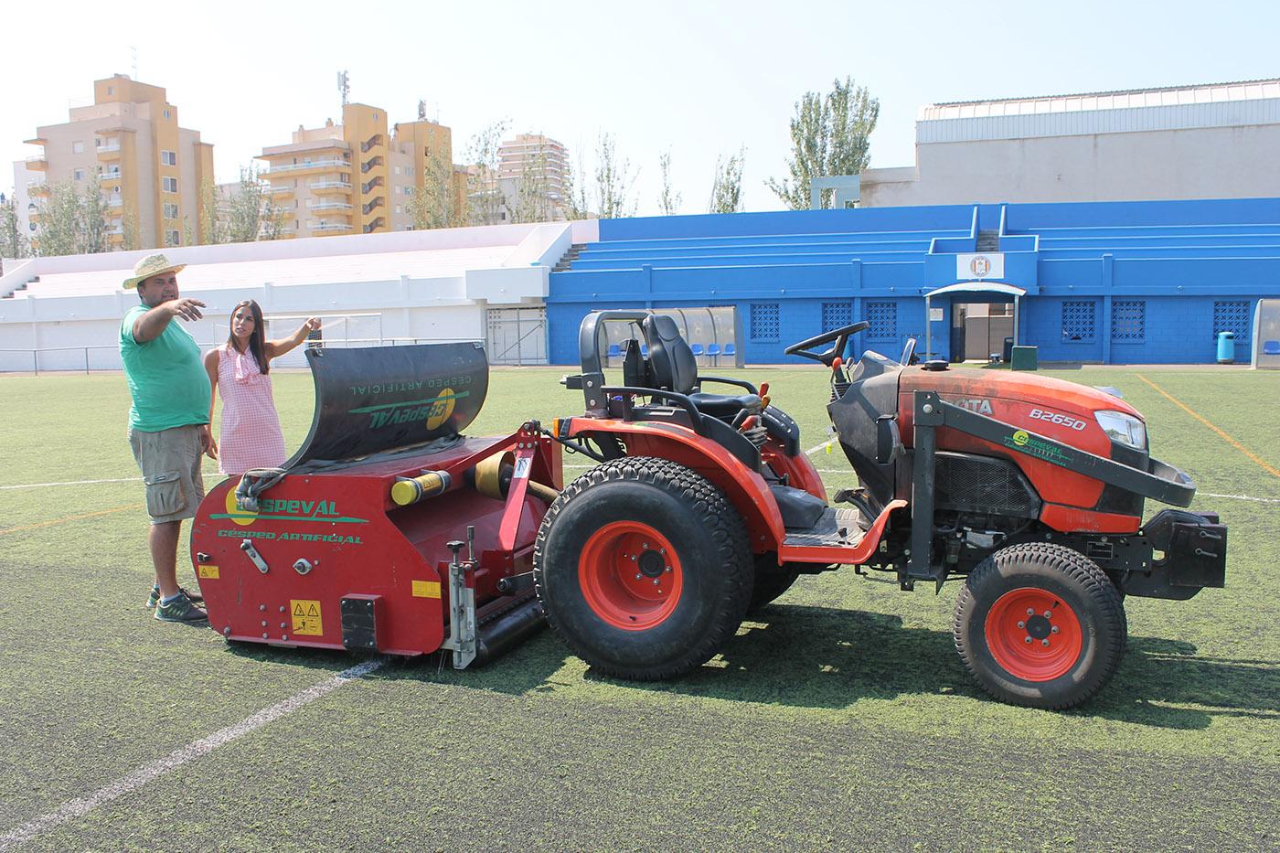 Peñíscola continúa con el Plan anual de Mejora de Infraestructuras Deportivas